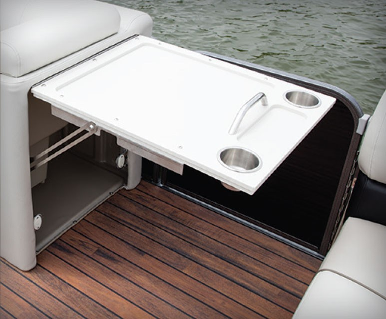 2019 X Plode Options Manitou Pontoon Boats