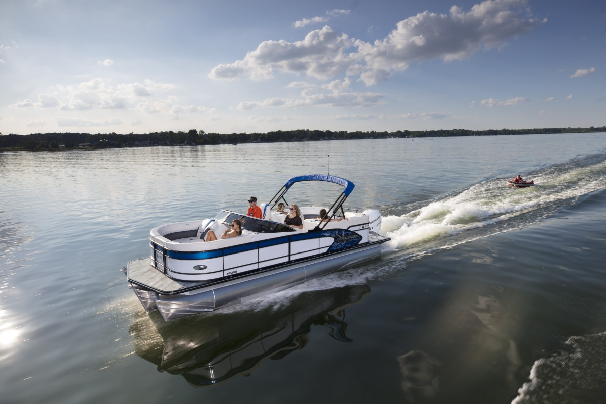 2019 X-Plode | Manitou Pontoon Boats